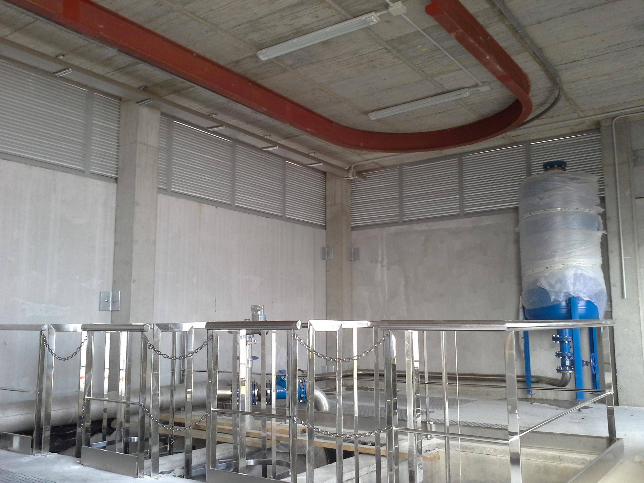 Continúan con éxito los trabajos en la obra: Red de Saneamiento Integral del Astillero de Navantia en Ferrol ( A Coruña)